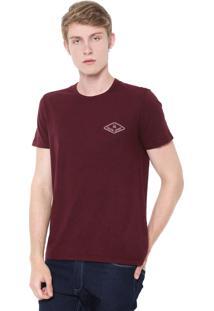 Camiseta Calvin Klein Jeans Global Vinho