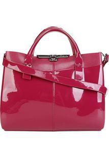 Bolsa Petite Jolie Worky Bag Feminina - Feminino-Pink