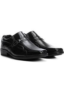 Sapato Social Couro Walkabout Westminster - Masculino-Preto