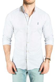 Camisa Sergio K. Botone Color Cinza