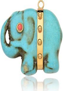 Pingente Rincawesky Pingente Elefante Em Pedra
