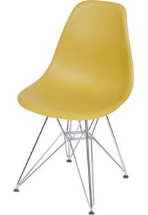 Cadeira Eames Dkr Base Cromada Ordesign