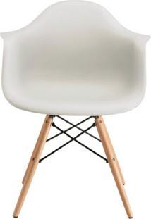 Cadeira Com Braços E Pés Em Madeira Flórida Siena Móveis Fendi