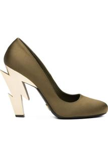 Prada Sapato De Salto - Verde