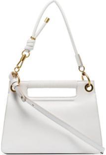Givenchy Bolsa Tiracolo Whip Pequena - Branco