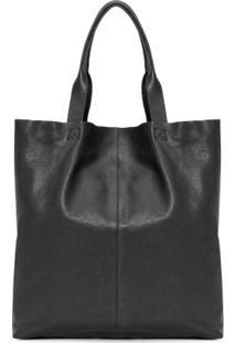 Bolsa Shopping Bag E-Basic Osklen - Preto