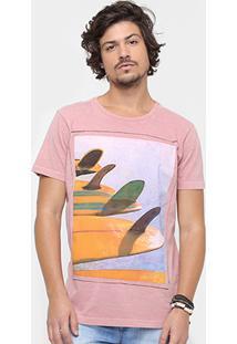 Camiseta Redley Mesclada Classy Board Masculina - Masculino