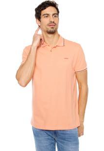 Camisa Polo Colcci Basic Laranja