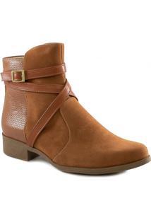 Bota Tiras Cruzadas 2020 Número Grande Sapato Show 2390470