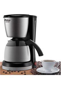 Cafeteira Philco Ph30 Thermo - Aço Escovado/Preto