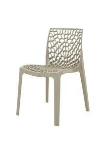 Cadeira Gruver Polipropileno Nude - 34336 Preto