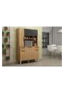 Cozinha Compacta Safira Plus 5 Pt 2 Gv Carvalho E Grafite