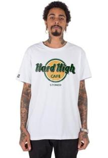 Camiseta Stoned Hard High Café Masculina - Masculino