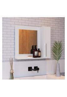 Espelheira Para Banheiro Criando Mobilia Ep02 Com 1 Porta 1 Prateleira