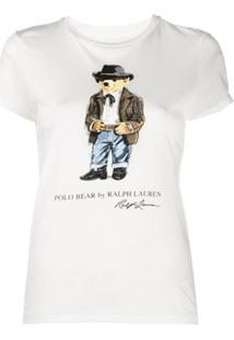 Polo Ralph Lauren Camiseta Com Estampa Polo Bear - Branco