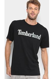 Camiseta Timberland Kennebec Linear Logo Feminina - Feminino