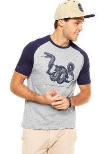 Camiseta Hd Solid Snake Cinza