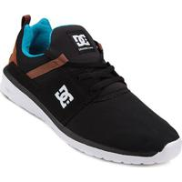 f6439c37d4 Tênis Dc Shoes Heathrow Masculino - Masculino-Branco+Preto