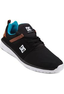 Tênis Dc Shoes Heathrow Masculino - Masculino-Branco+Preto