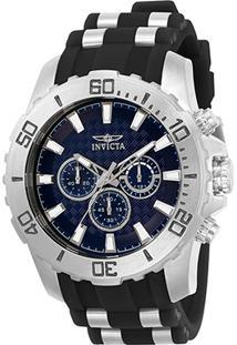 d088963bce8 ... Relógio Invicta Analógico Pro Diver - 22559 Masculino - Masculino -Prata+Preto