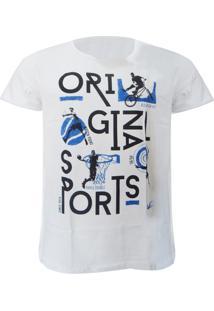 Camiseta Mormaii Bikery - Masculino-Branco