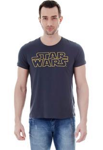 Camiseta Masculina Fkn Menswear Star Wars - Grafite