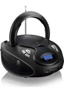 Rádio Portátil 20W Boombox Cd/Usb/Sd/Fm/Aux Sp178 - Multilaser - Unissex