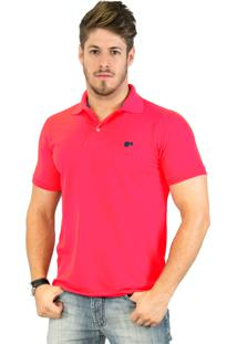 Camisa Polo Hugo Blanc Piquet Coral 006