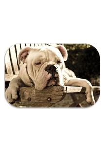 Tapete Decorativo Wevans Dog´S 40Cm X 60Cm Marrom