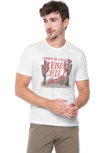 Camiseta Wrangler Rebel Child Branca