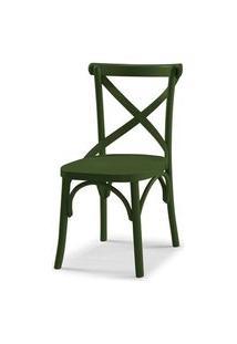 Cadeira X Cor Verde Escuro - 31336 Verde