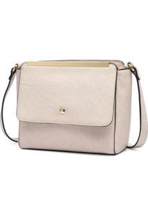 Bolsa Macadamia Mini Bag Tiracolo - Feminino-Nude