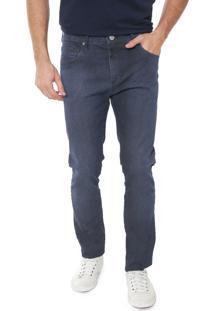 Calça Jeans Forum Slim Alexandre Azul-Marinho