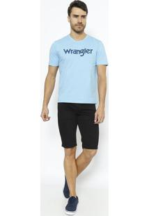 "Camiseta ""Wrangleâ®""- Azul & Azul Marinhowrangler"