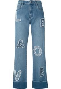 Andrea Bogosian Calça Jeans Ruth - Azul
