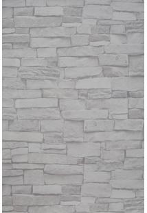 Papel De Parede Vinílico Lavável Maya Wallpaper 0,53 X 9,5M Pedra Clara