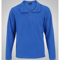 fb3306bbdf03d Blusa De Frio Fleece Nord Outdoor Basic - Masculina - Azul