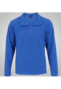 Blusa De Frio Fleece Nord Outdoor Basic - Masculina - Azul