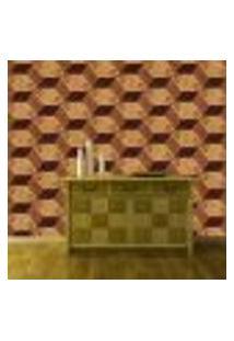 Papel De Parede Adesivo - Madeira Abstrato - 039Ppm