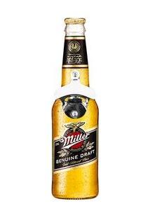 Abridor De Garrafas De Parede Cerveja Miller