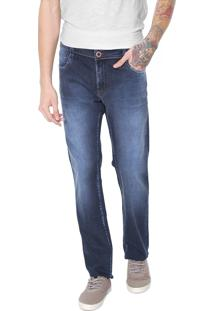 Calça Jeans Hang Loose Reta Oahu Azul