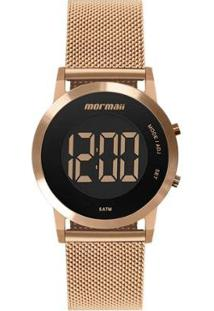 Relógio Digital Mormaii Sunset Feminino - Feminino-Rose Gold