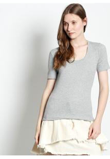 Camiseta Canelada - Cinzacanal