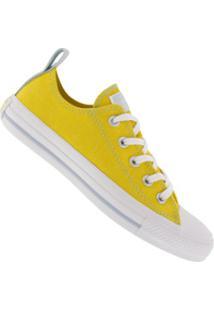 Tênis Converse All Star Chuck Taylor Core Ct1274 - Feminino - Amarelo/Branco
