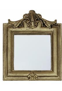 Espelho Casa Da Mãe Joana Bergamo Dourado