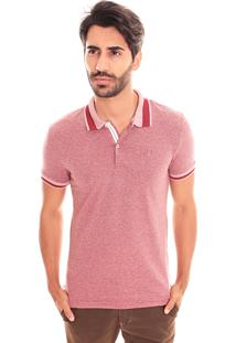 Camiseta Polo Convicto Bordada Bordo