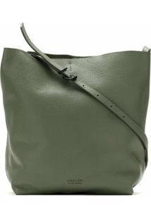 Osklen Bolsa Tiracolo Box Soft - Verde