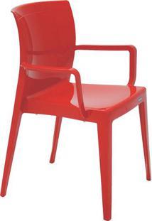 Cadeira Victoria- Vermelha- 83X61X54,5Cm- Tramontramontina