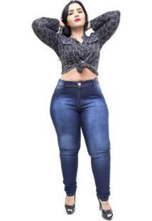 Calça Jeans Credencial Plus Size Skinny Ariel Feminina - Feminino