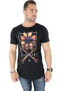 Camiseta Wolke Oversized Básica L.O.V.E Wlk